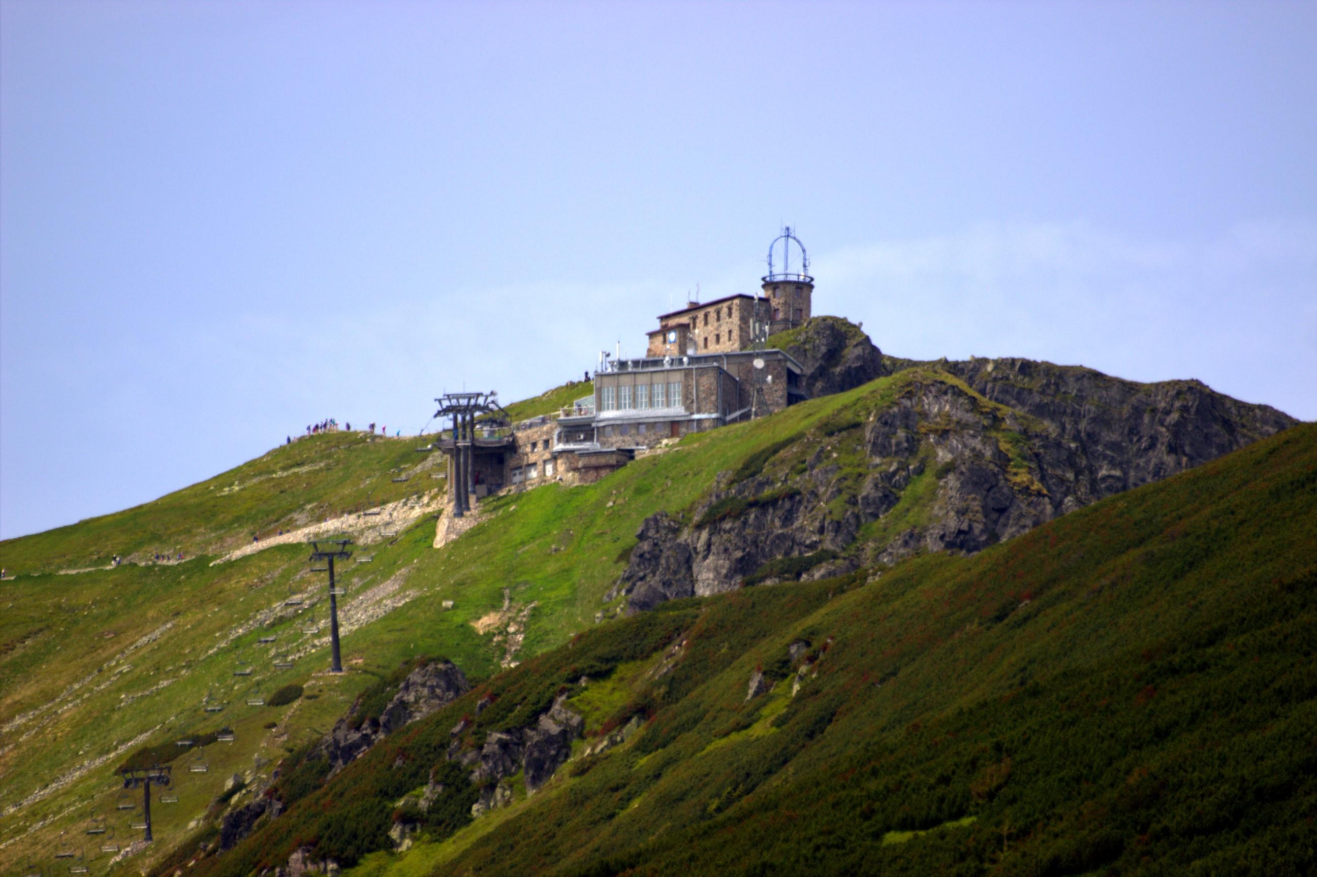 Obserwatorium na Kasprowym Wierchu