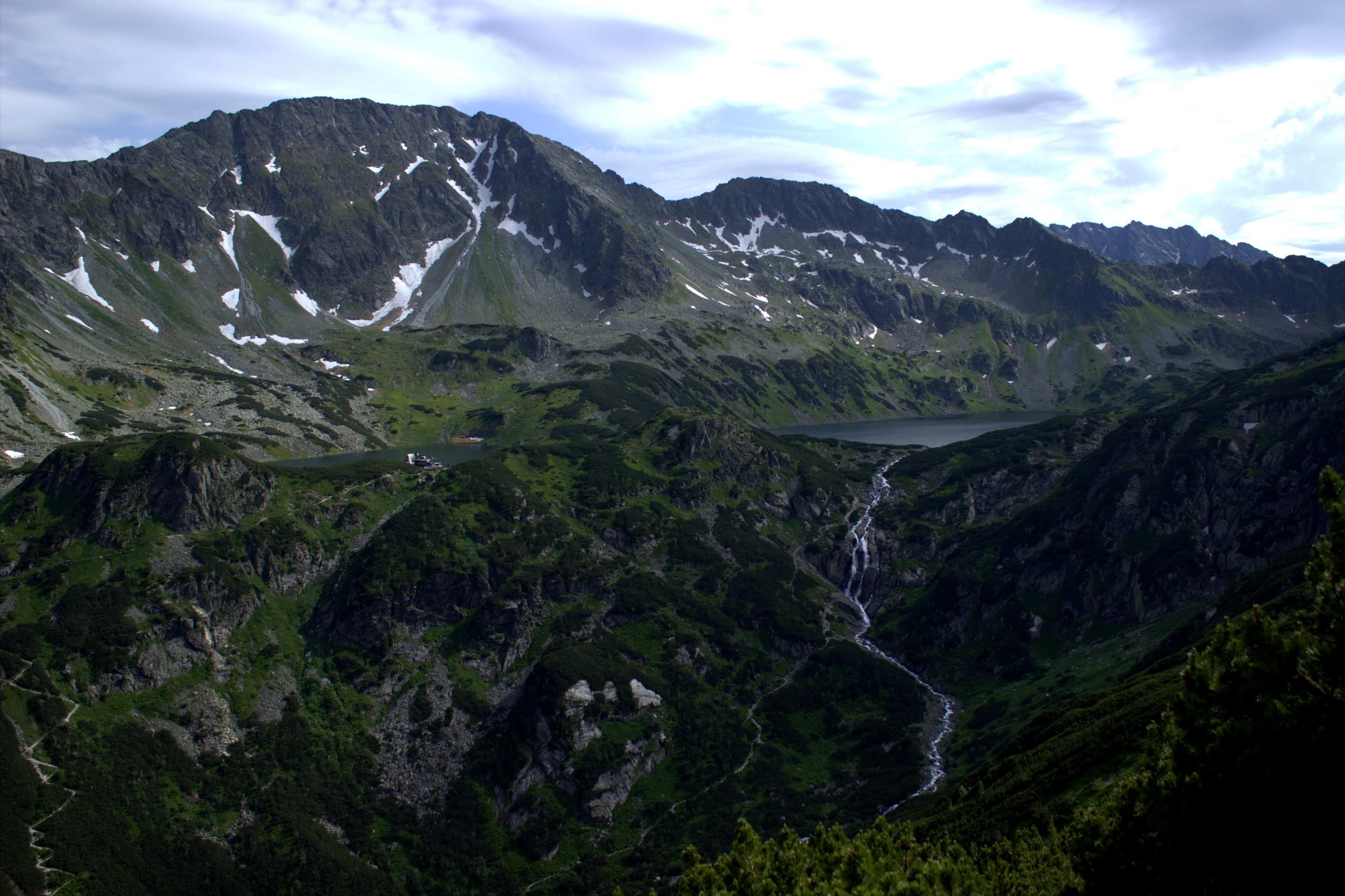 Siklawa i Dolina Pięciu Stawów