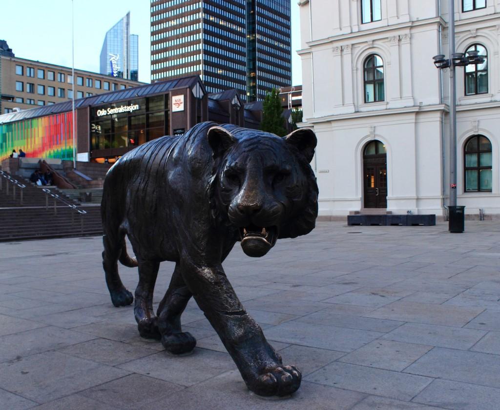 Tygrys w Oslo