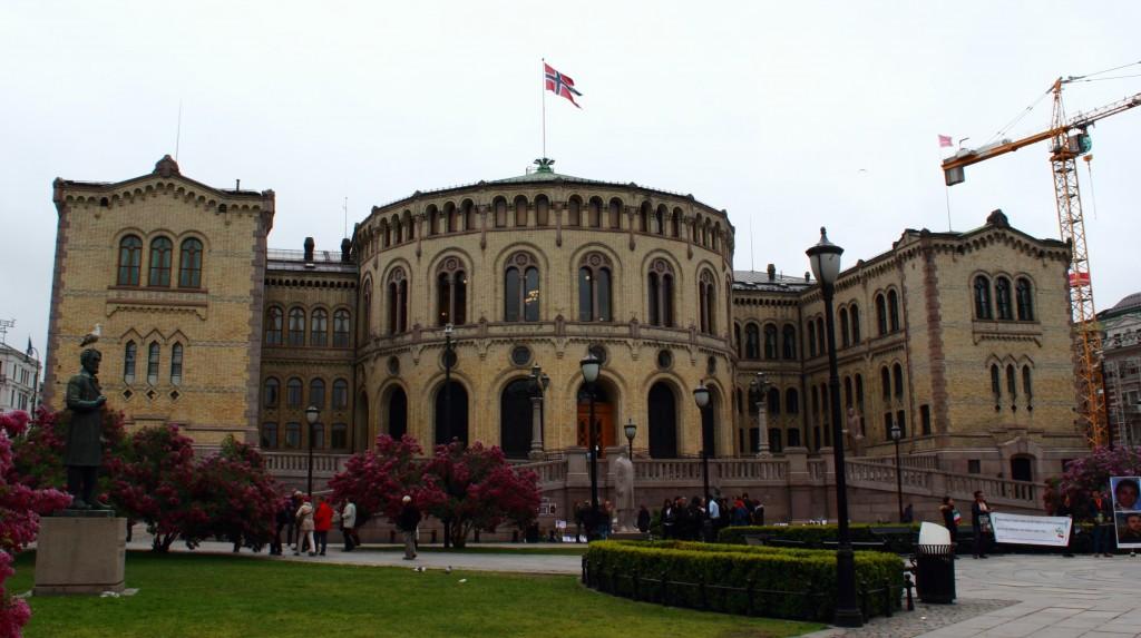 Budynek Parlamentu w Oslo