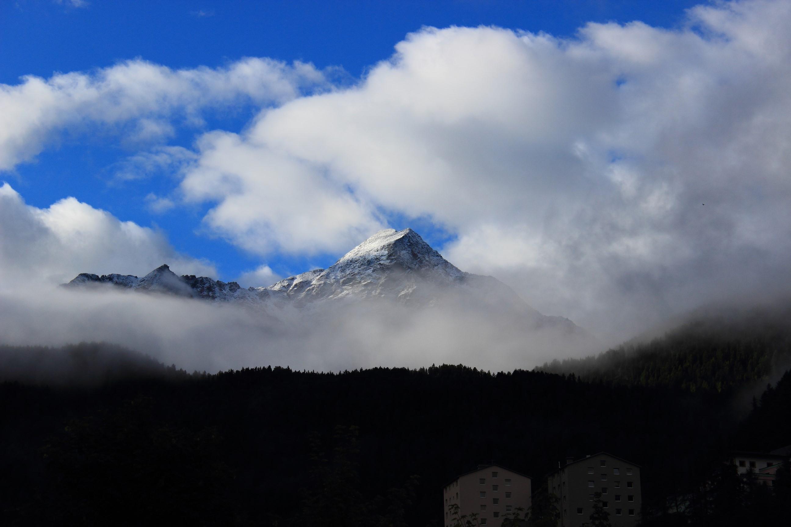 Solden - Alpy w chmurach