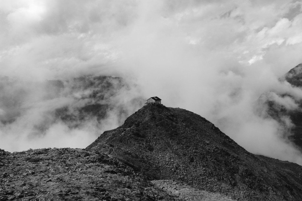 Alpy - Schronisko Brunona
