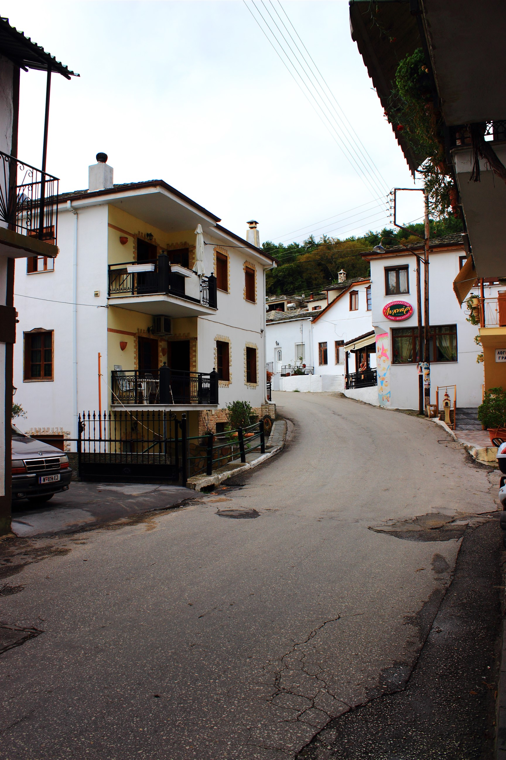Panagia - główna ulica