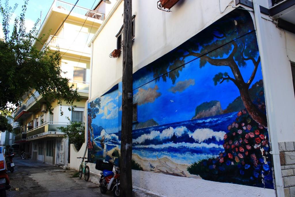 Limenas, Thassos, ulica 18. października