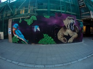 Murale w Reykjaviku