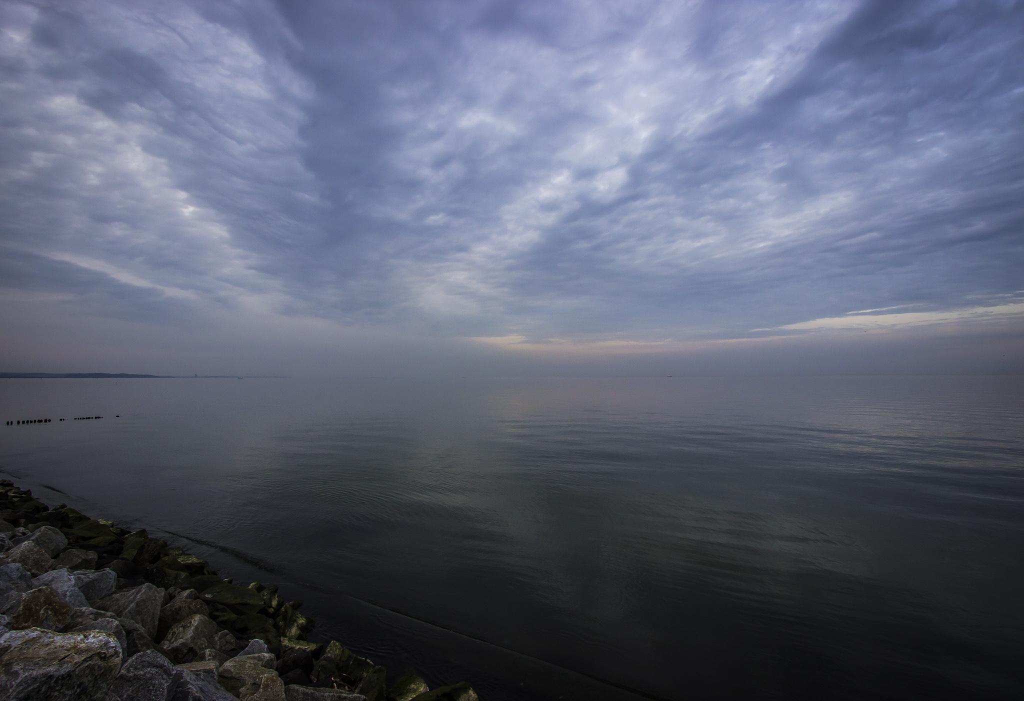 Bezkresny horyzont Zatoki Gdańskiej