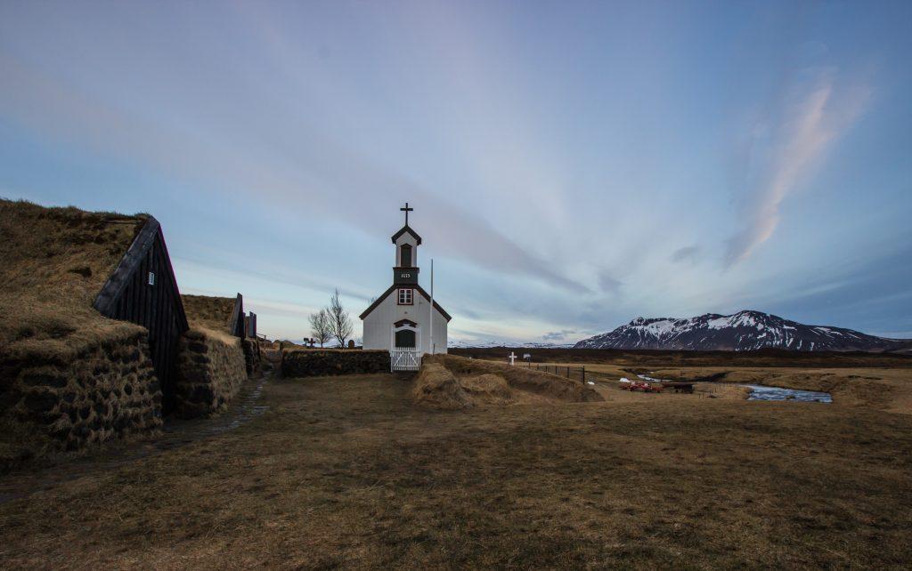 Osada Keldur na Islandii