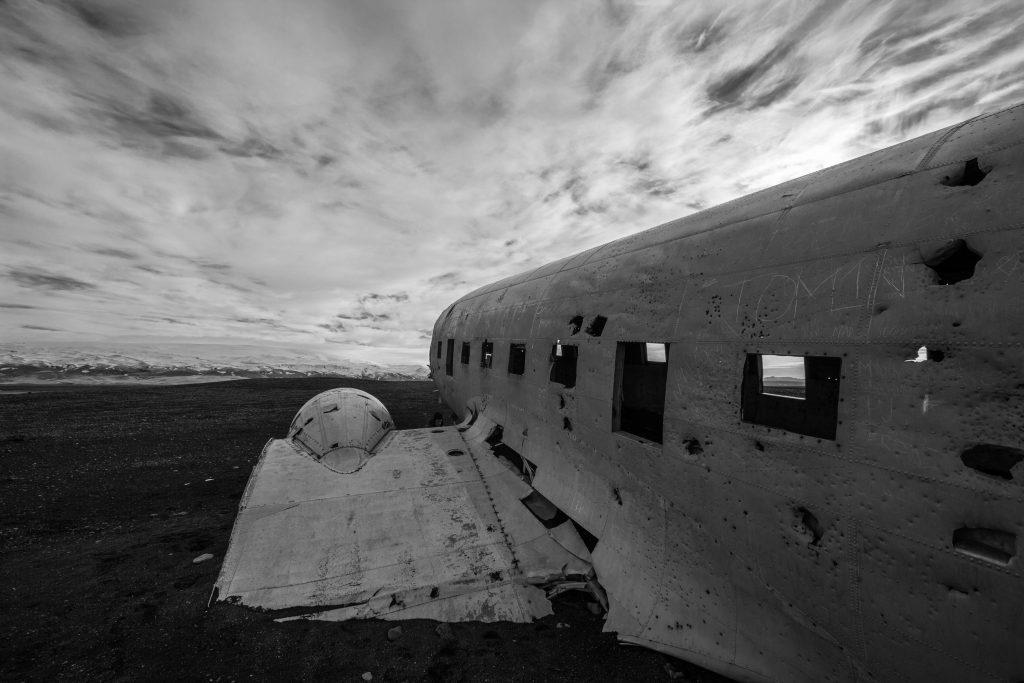 Wrak samolotu Dakota