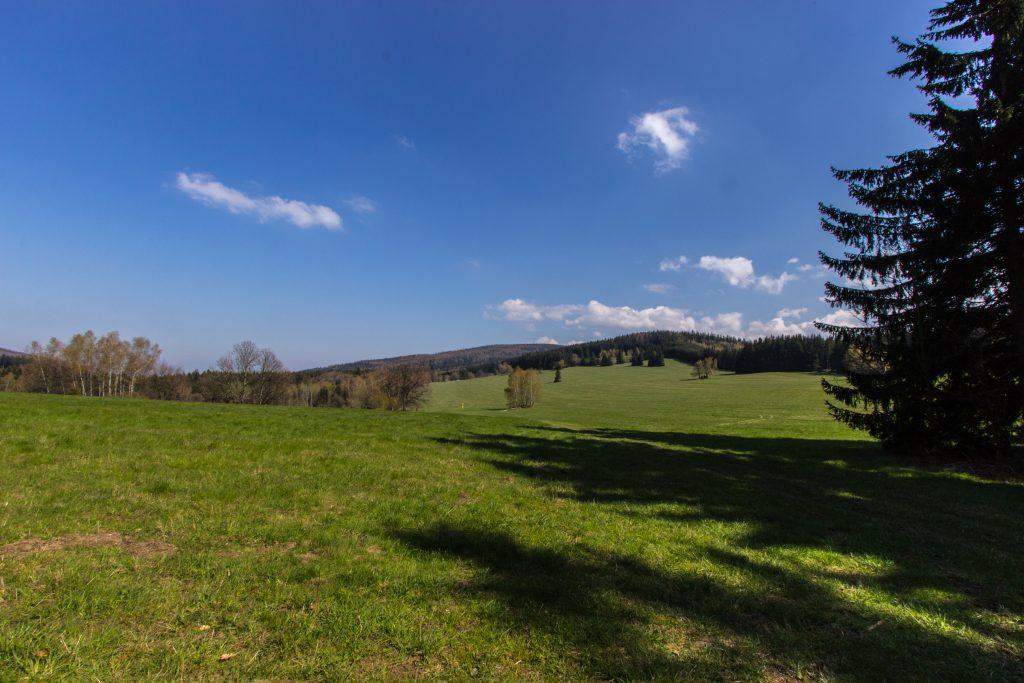 widok na Czechy :)