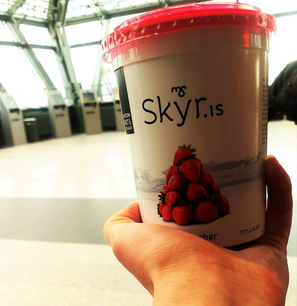 Podróż na Islandię - Islandzki Skyr jest najlepszy!