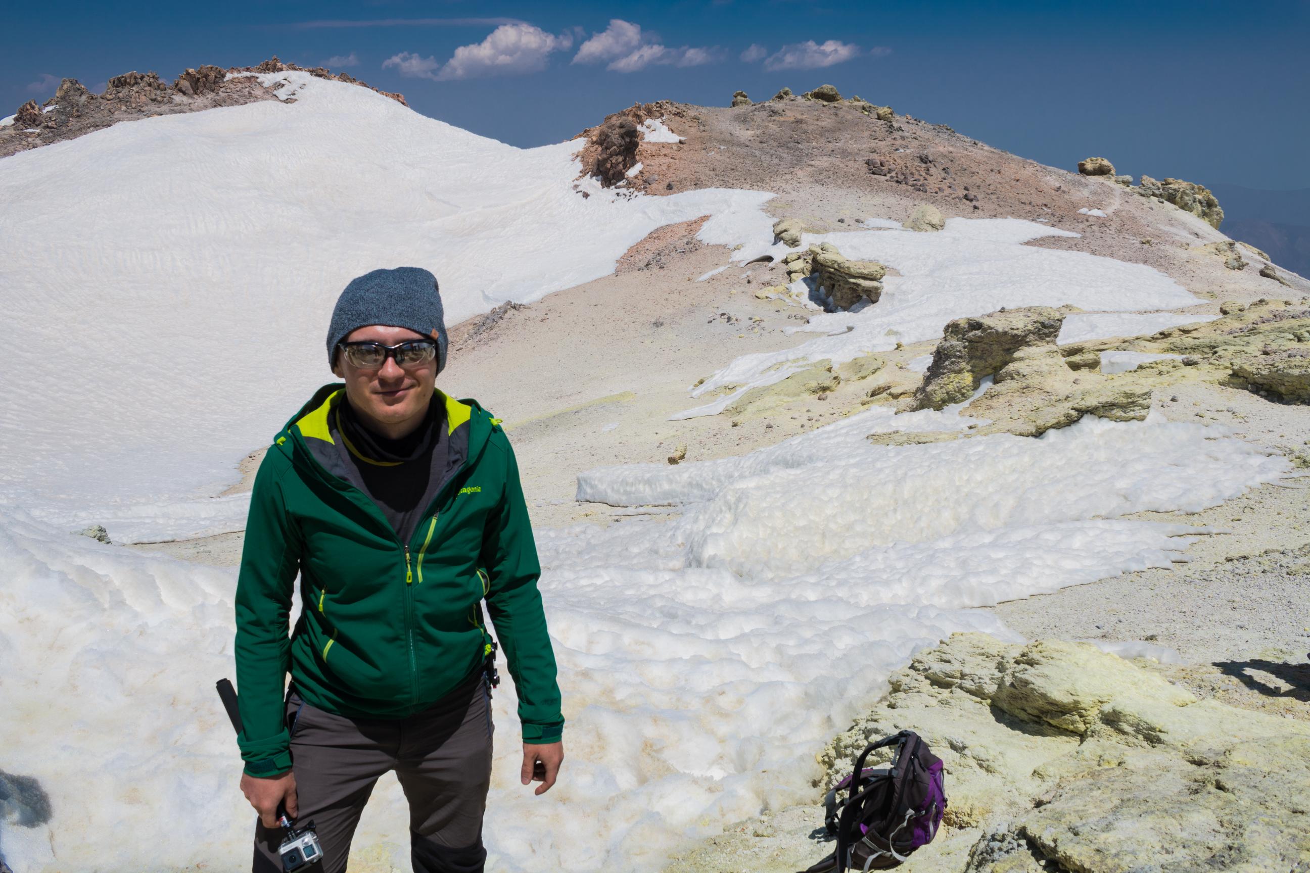 Przy kraterze Damavand, czyli kawałek ponad 5600 m n.p.m.