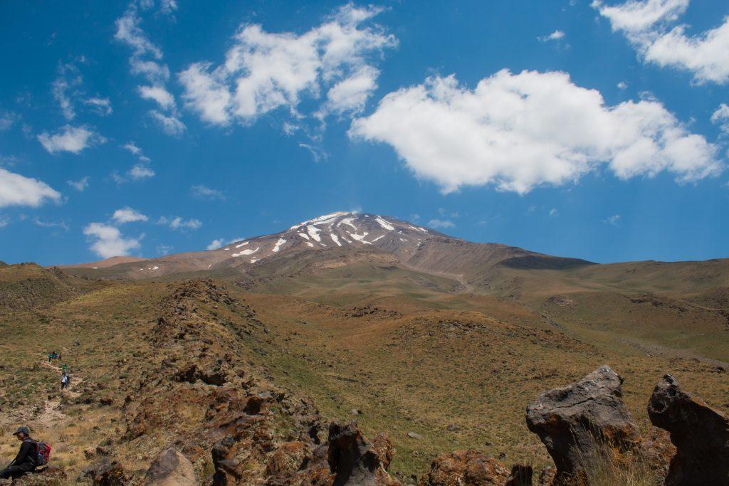 Pożegnalna fota góry Damavand...