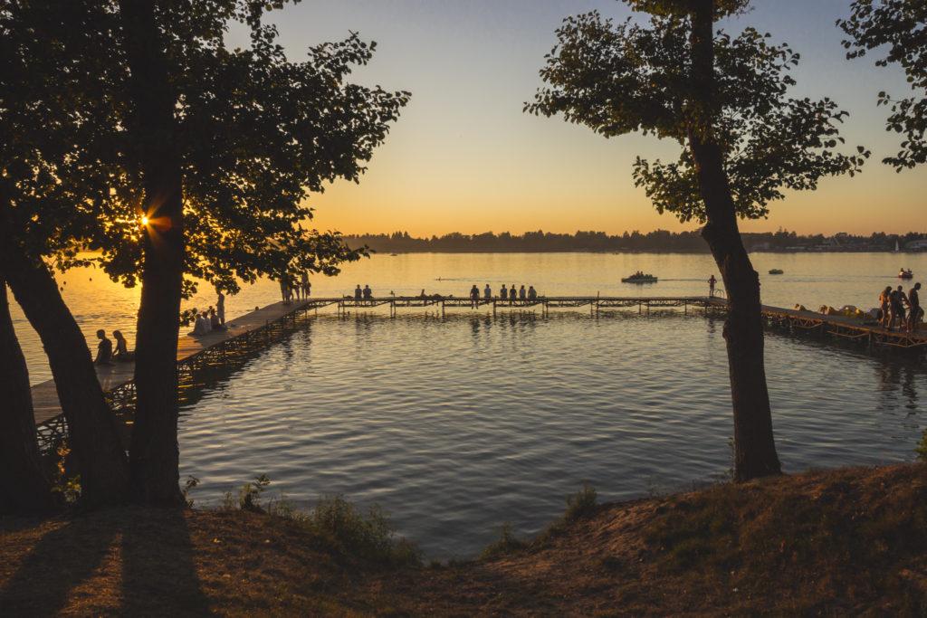Wakacje nad jeziorem Białym