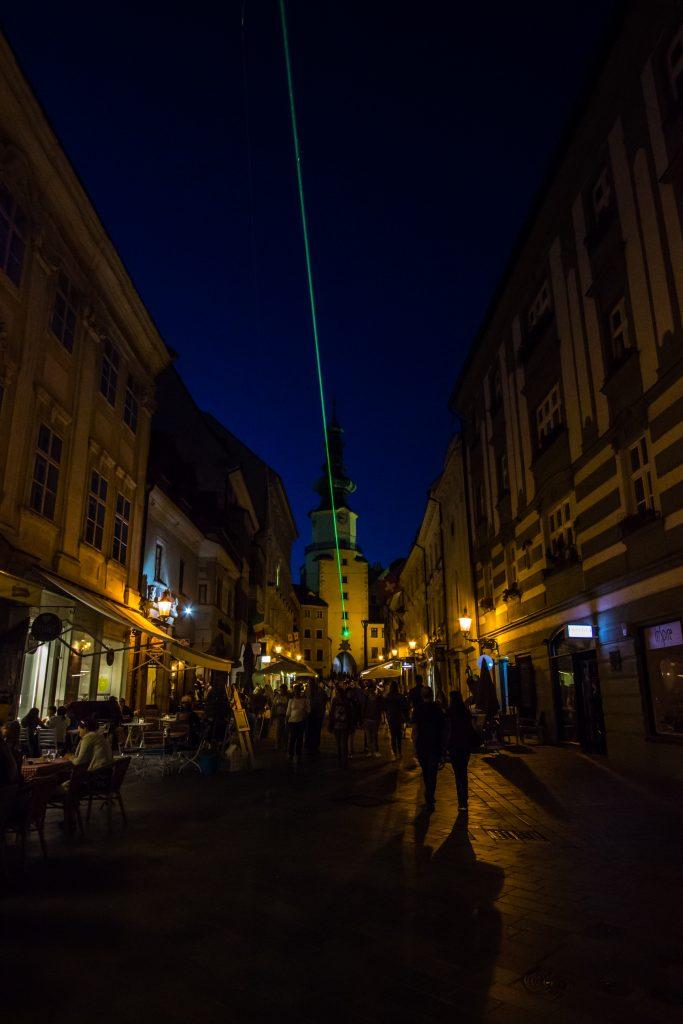 Klimatyczna ulica Michalska nocą