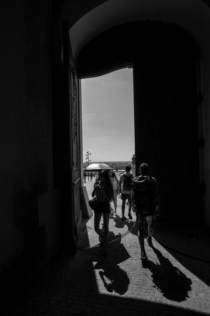 Wejście na dziedziniec Zamku