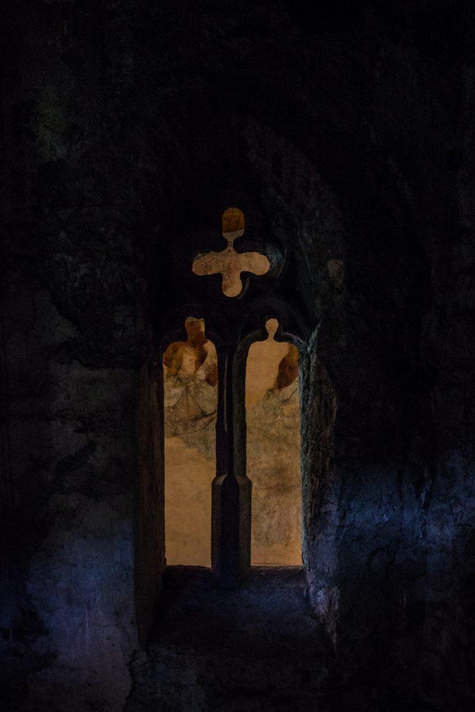 Okno w stylu gotyckim