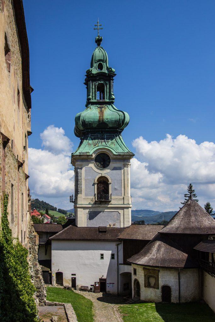 wieża Himmerleich w Bańskiej Szczawnicy