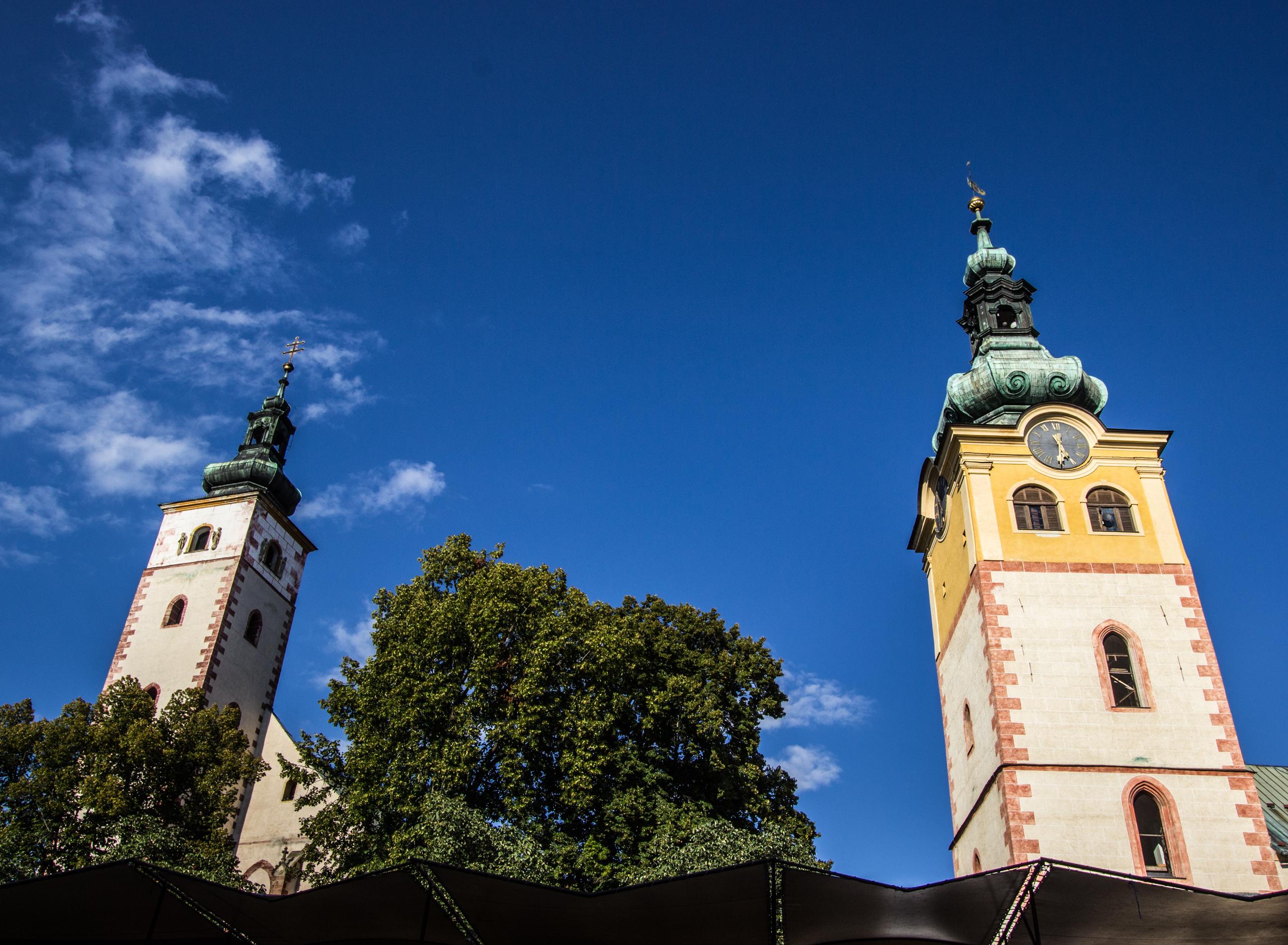 Wieże Zamku Miejskiego