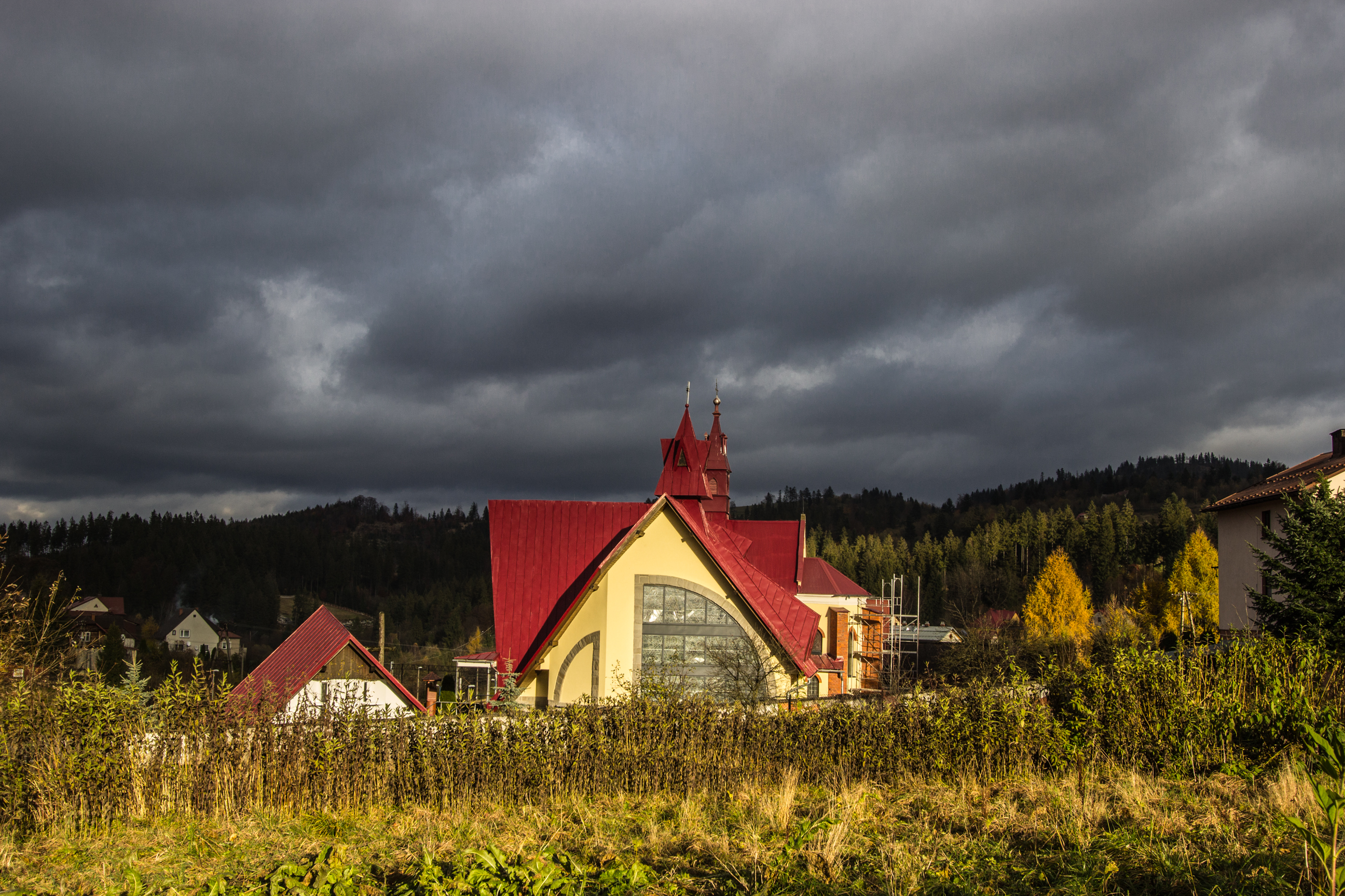 Kościół p.w. Nawiedzenia Najświętszej Maryi Panny w Zwardoniu