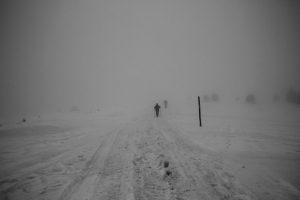 Wędrówka we mgle w Gorcach