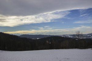 Tatry widziane z Bacówki PTTK na Maciejowej