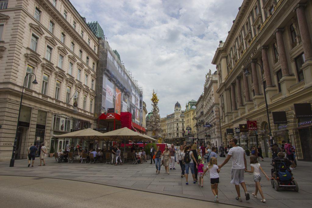 Plac Graben, Wiedeń