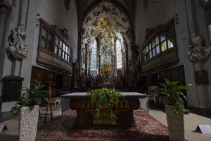 We wnętrzu kościoła św. Michała, Wiedeń