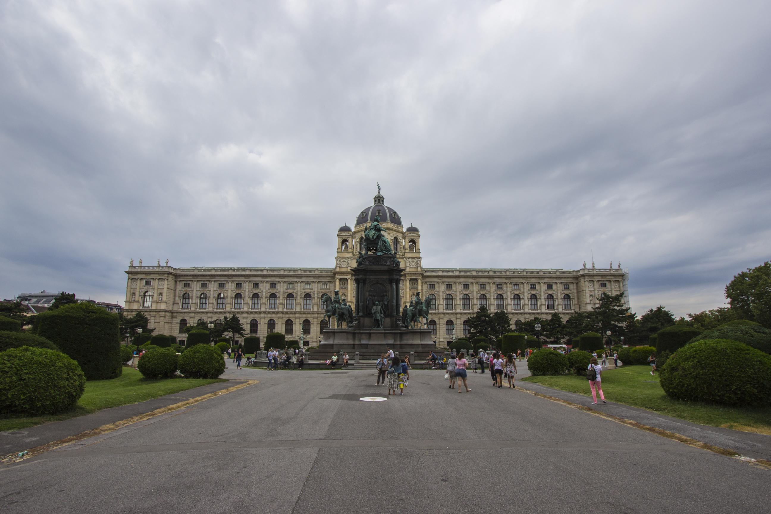 pomnik Marii Teresy Habsburskiej Muzeum Historii Naturalnej