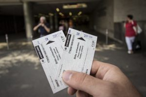 Bilety na metro w Wiedniu