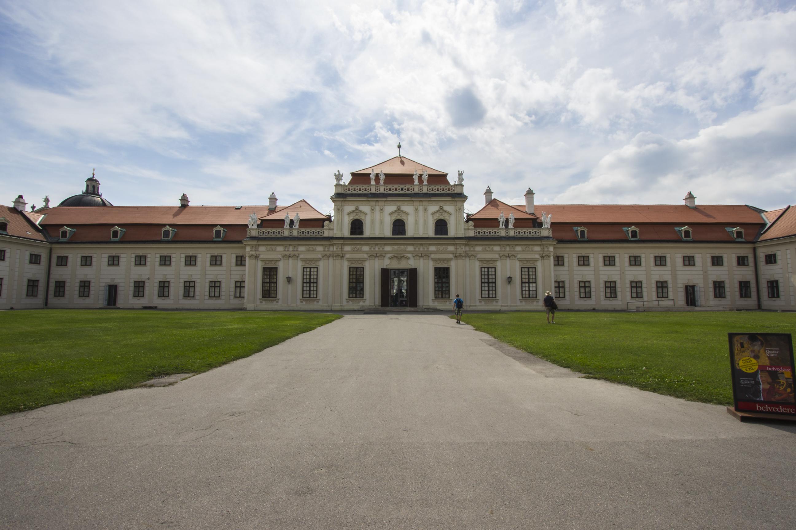 Dolny Belweder, Wiedeń