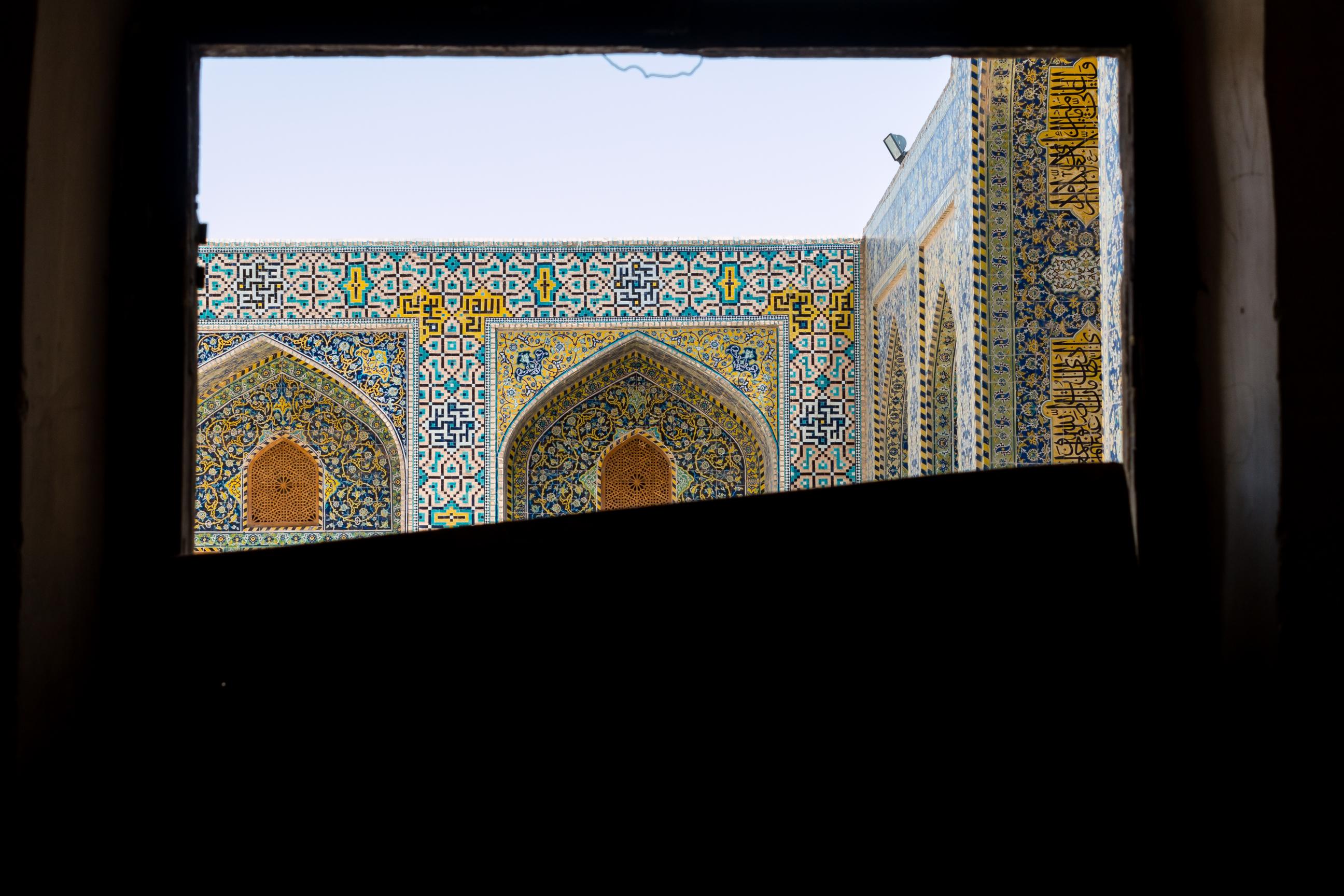 Moc kolorów to cecha charakterystyczna meczetów.