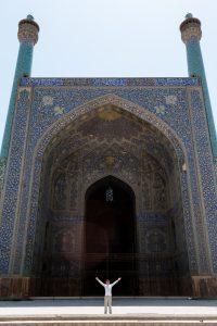 Meczet Shah. Taaaaaki wielki! :)