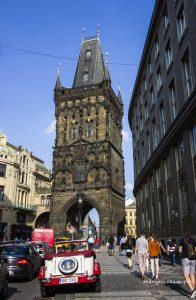 Wieża Prochowa, Praga