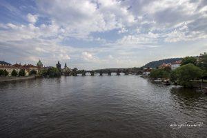 Most Karola zakończony jest wieżyczkami, na które można wejść i poobserwować okolicę.