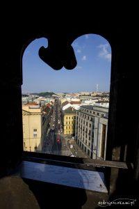 Widok z Wieży Prochowej