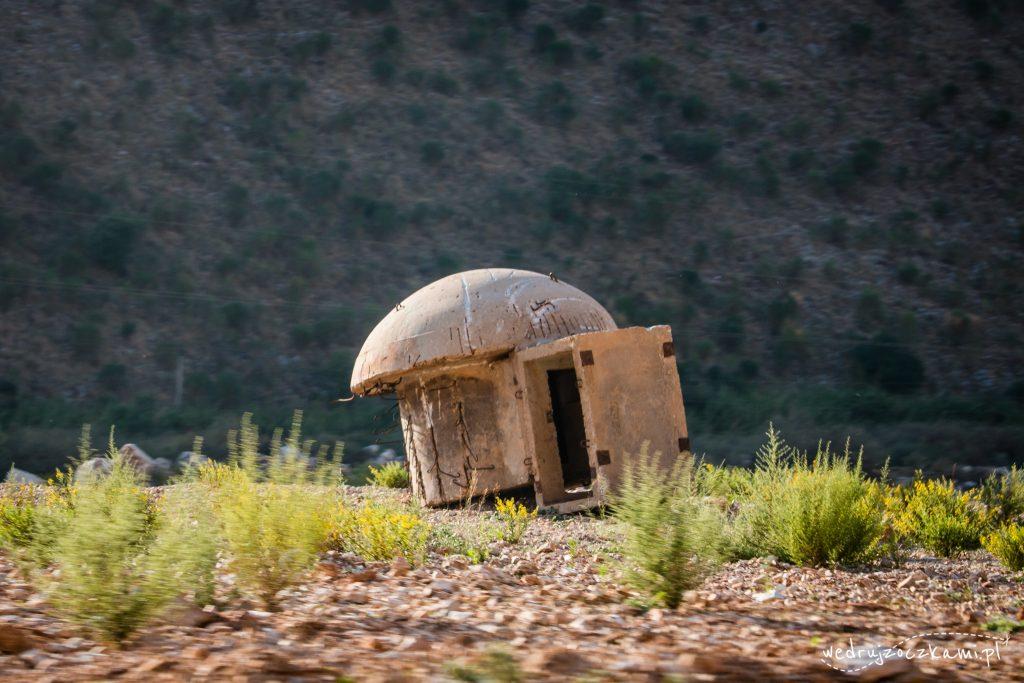 Bunkry - pozostałości po komunistycznych rządach Envera Hodży