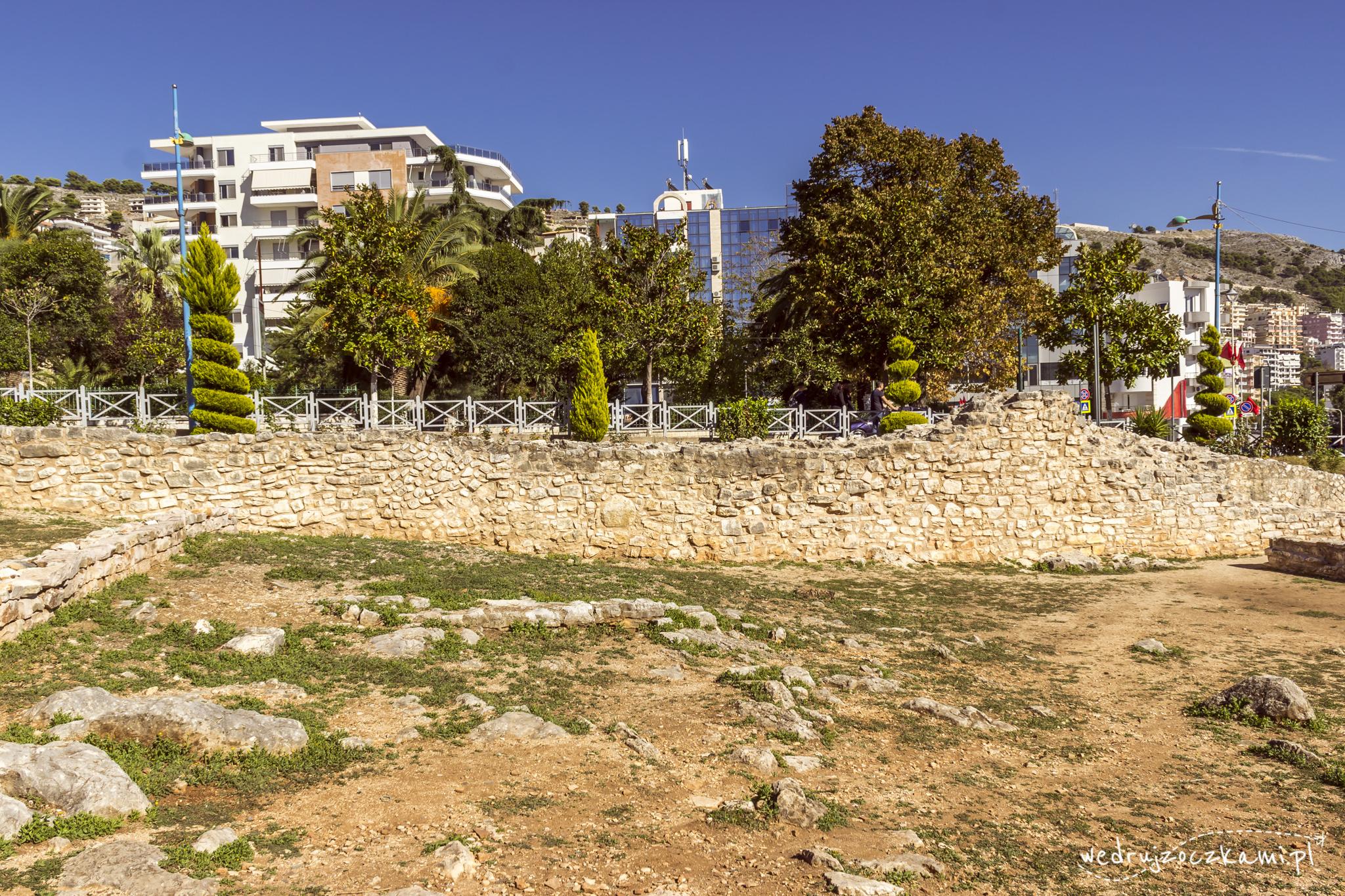 Ruiny synagogi, Saranda