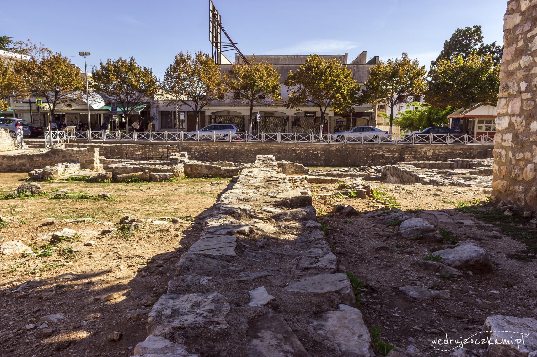 Ruiny synagogi