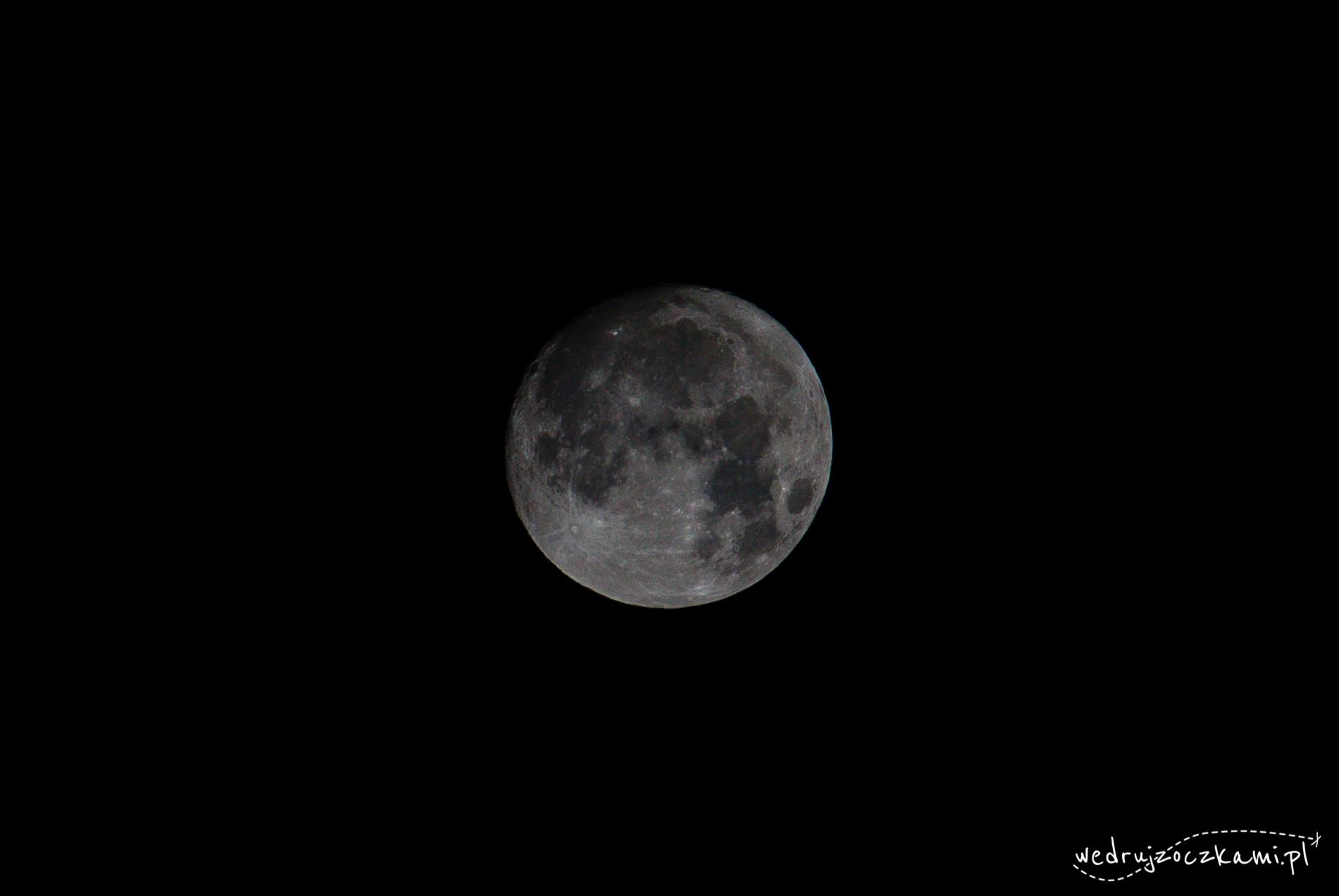 Sylwestrowy Super Moon