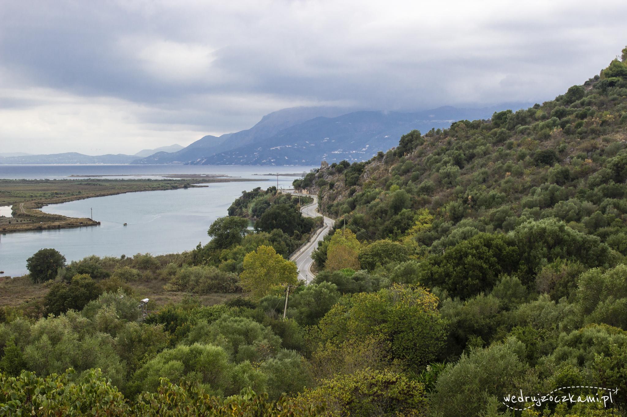Widok z Zamku Weneckiego, Butrinti
