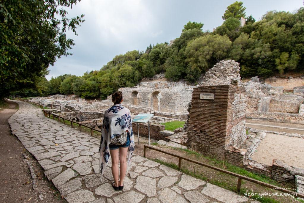 Ruiny amfiteatru, Butrinti