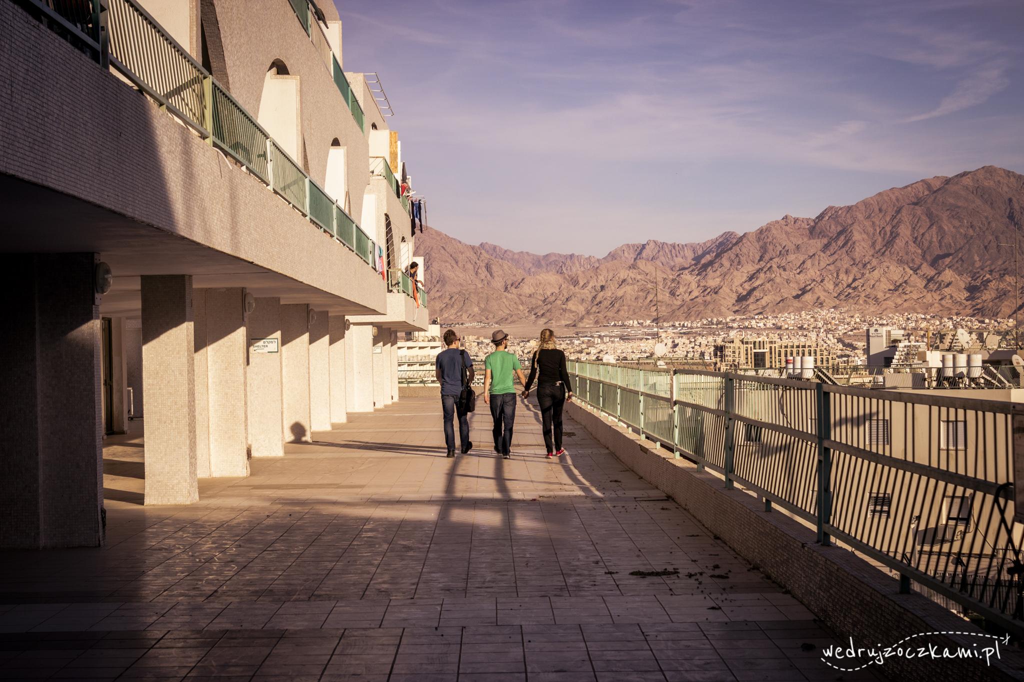 Eilat. Poszukiwanie mieszkania i napawanie się cudownymi widokami.