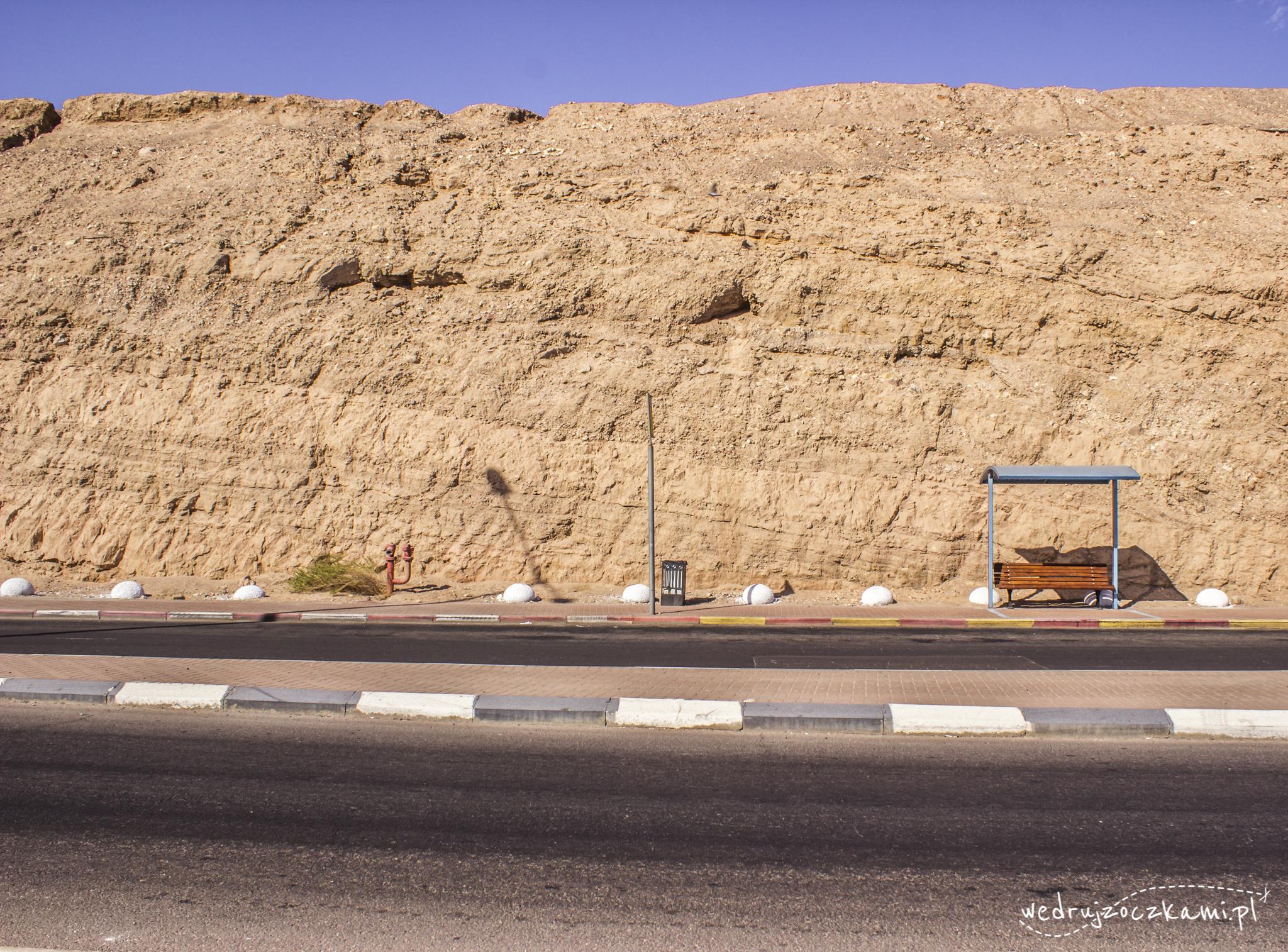 Eilat. W drodze nad Morze Czerwone.