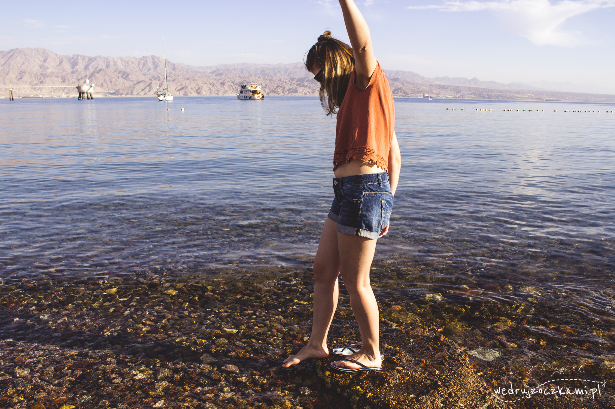 Morze Czerwone, Eilat, listopad