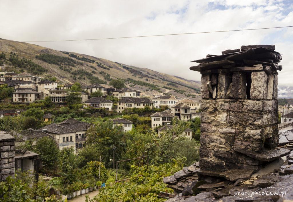 Gjirokastra - kamienne miasteczko