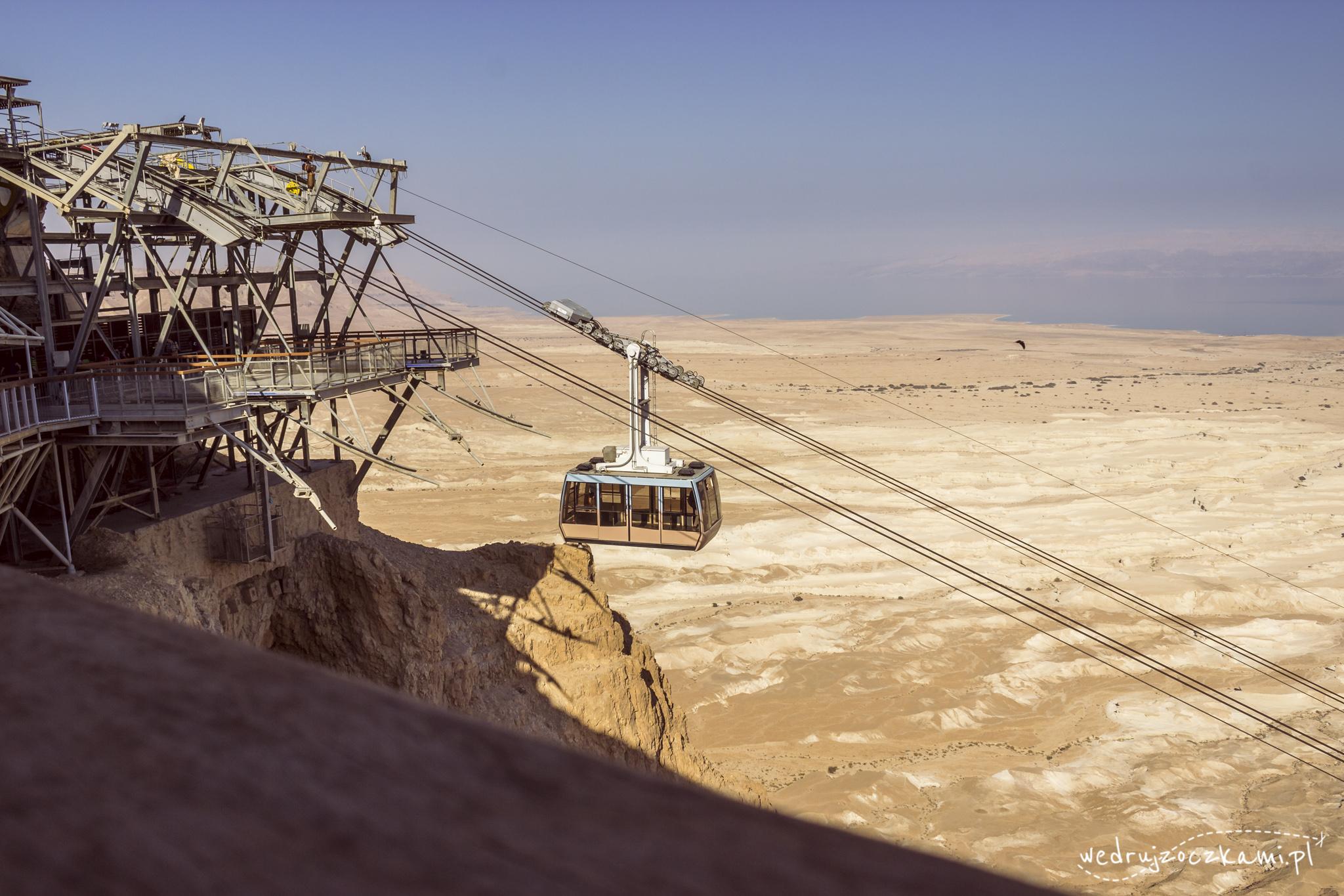 kolejka na Masadę