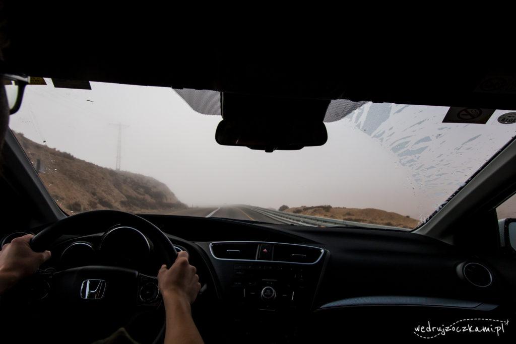 Mgła na pustyni, Izrael