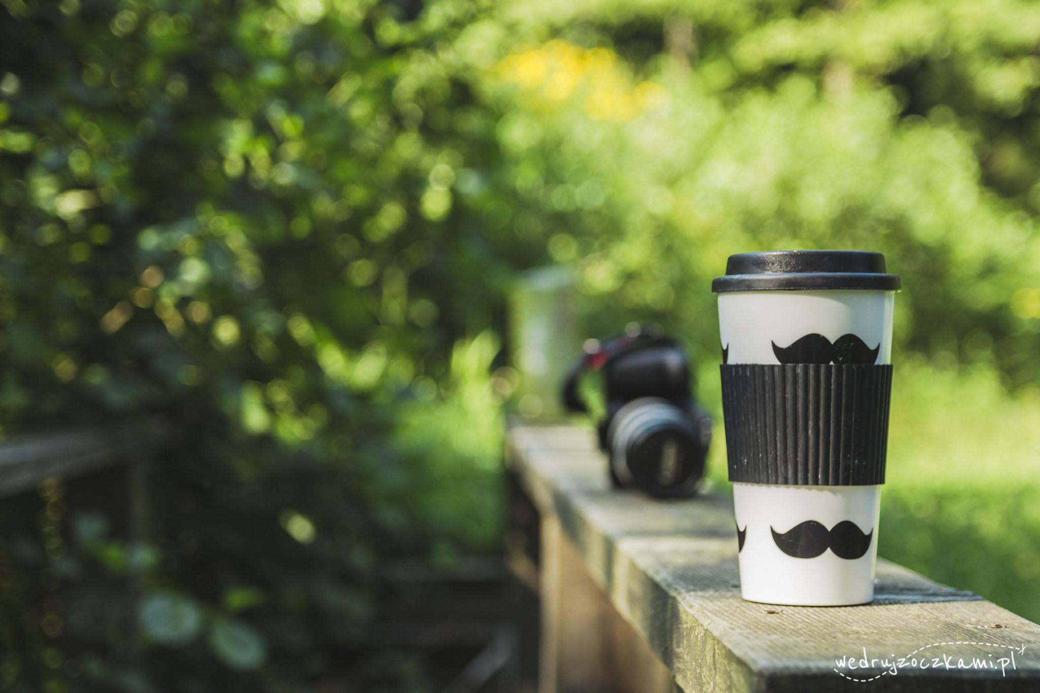 Kawka z aparatem, kawka chyba zawsze najważniejsza ;)