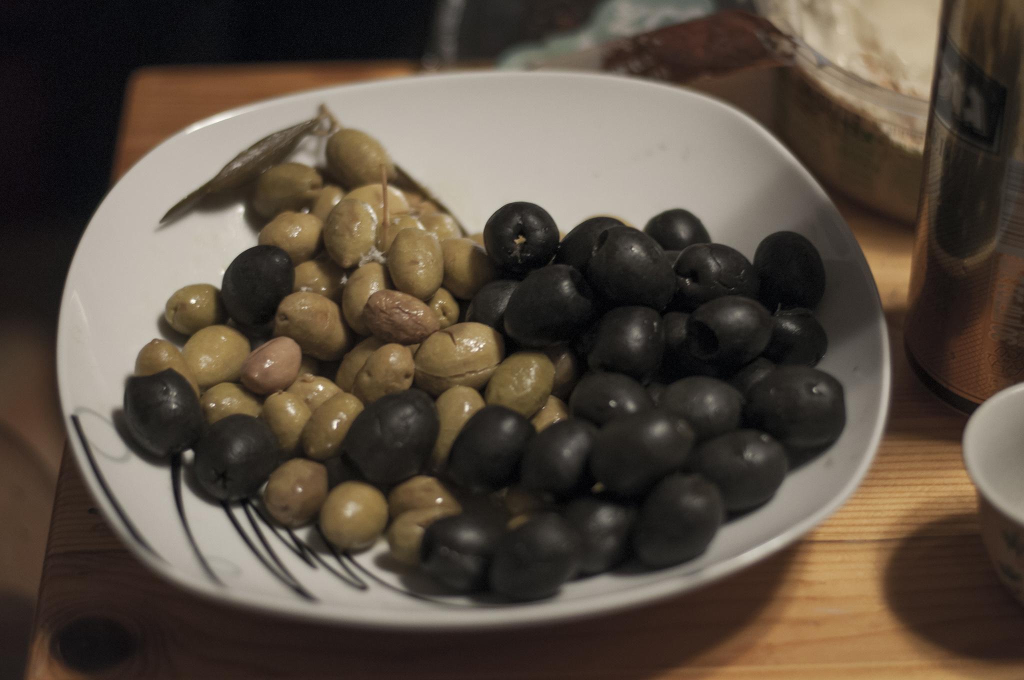 izraelskie oliwki - bardzo smaczne! :)