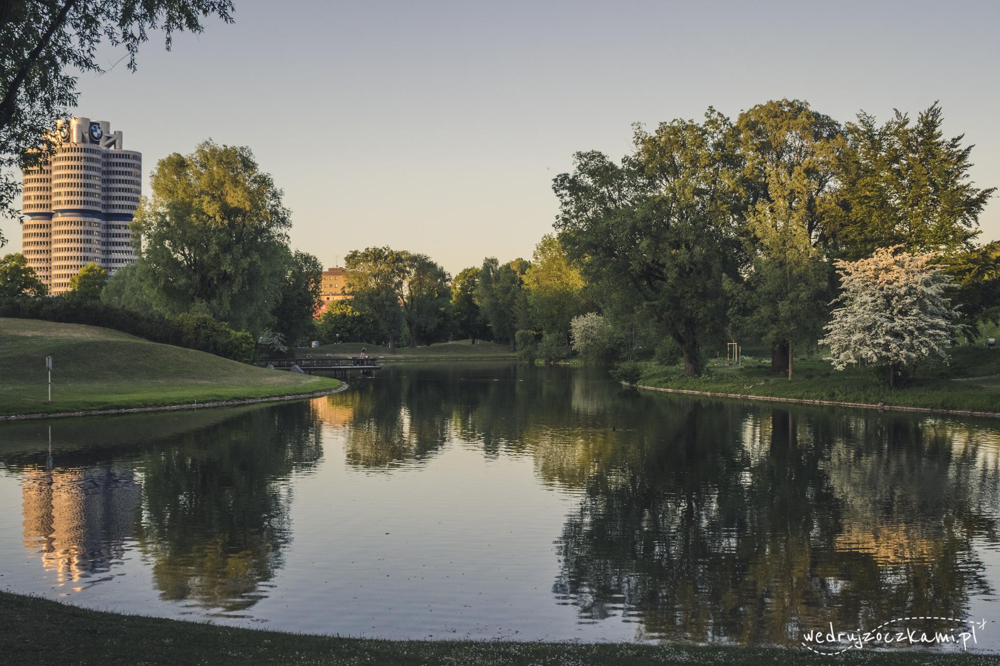 Park Olimpia, Monachium
